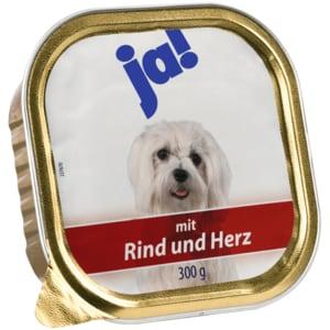 ja! Hundefutter mit Rind & Herz 300g