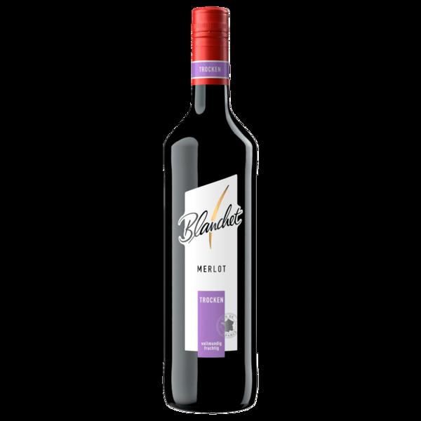 Blanchet Rotwein Merlot trocken 0,75l
