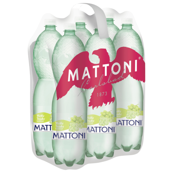 Mattoni weiße Traube 6x1,5l