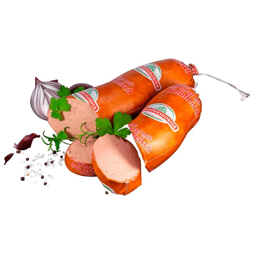 Dürrröhrsdorfer Kalbfleischleberwurst