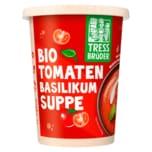 TressBrüder Frische Bio Tomatensuppe mit Basilikum 450ml