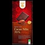 Gepa Grand Noir 70% Cakao Nibs 100g