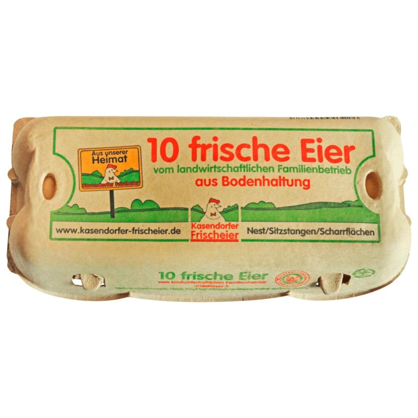 Kasendorfer Eier Bodenhaltung 10 Stück