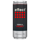 Three Sixty Vodka + Effect 330ml