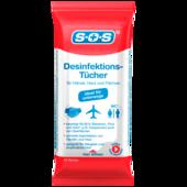 SOS Desinfektionstücher 10 Stück