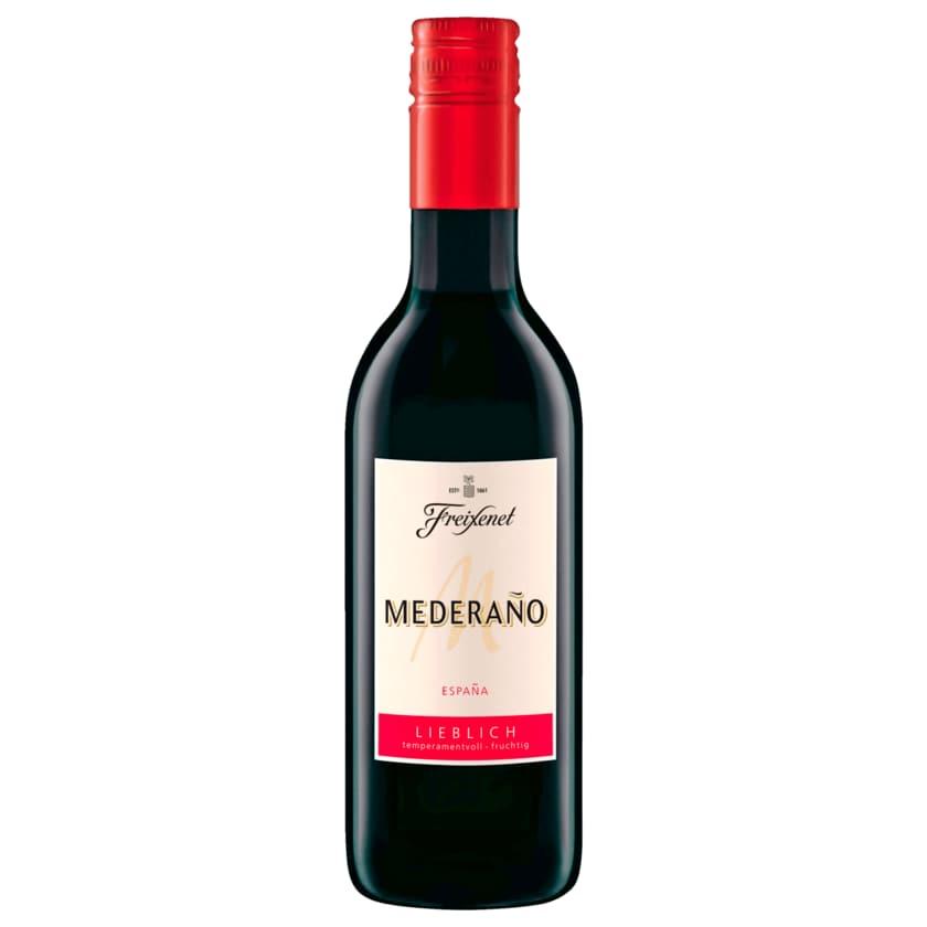 Freixenet Rotwein Mederano lieblich 0,25l