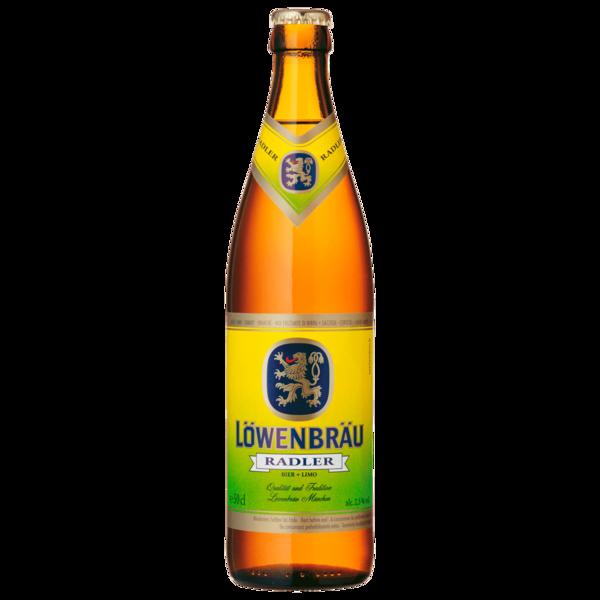Löwenbräu Radler Bier und Limo 20x0,5l