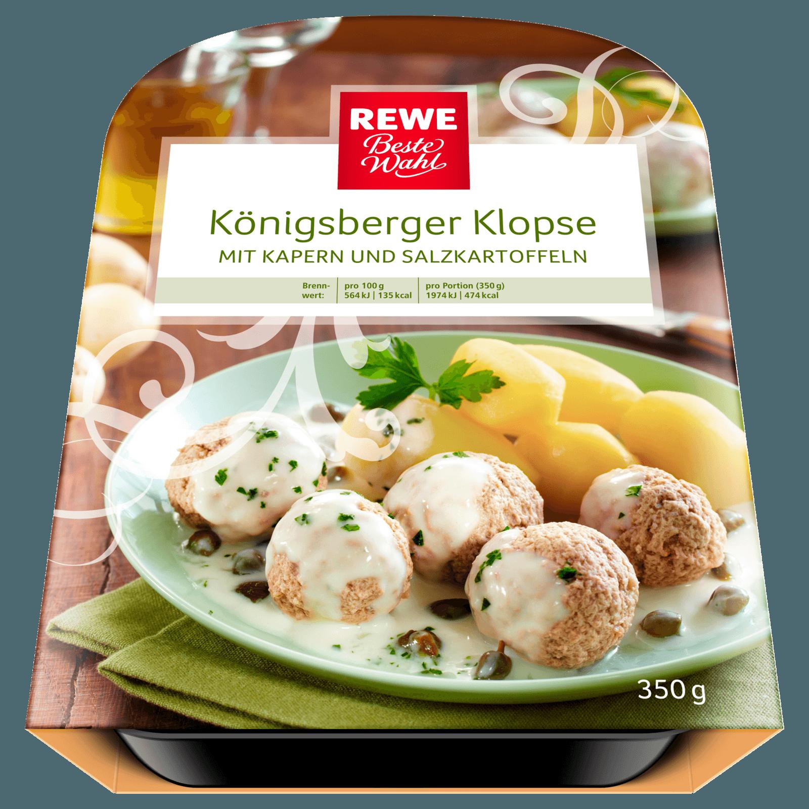REWE Beste Wahl Königsberger Klopse 350g
