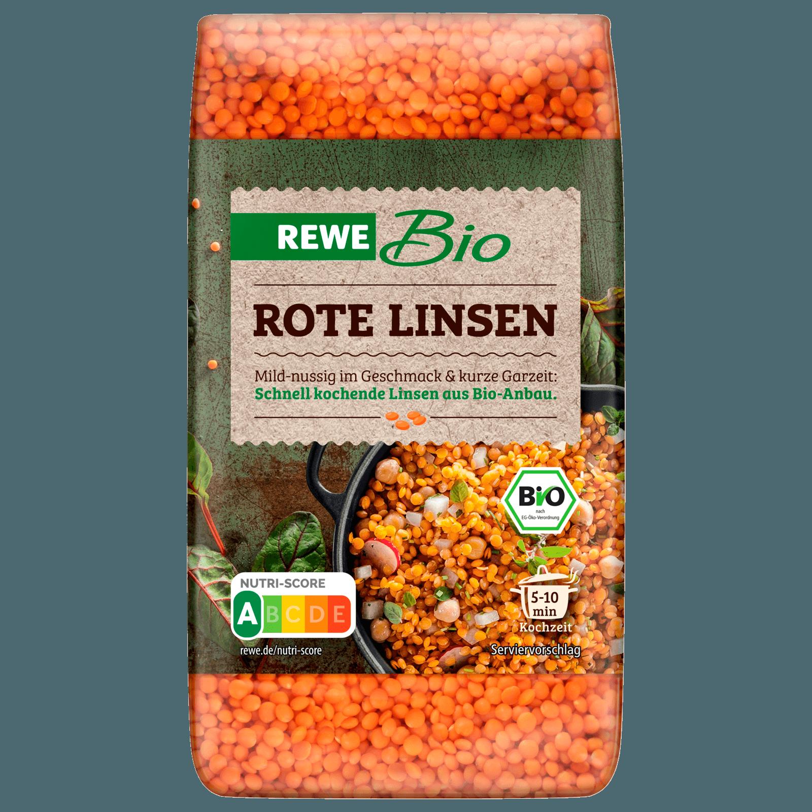 REWE Bio Rote Linsen 500g bei REWE online bestellen!