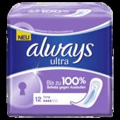 Always Ultra Damenbinden Long 12 Stück