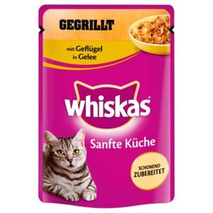 Whiskas Sanfte Küche gegrillt mit Geflügel 85g