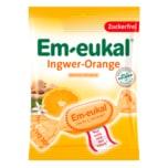 Em-eukal Ingwer-Orange Zuckerfrei 75g