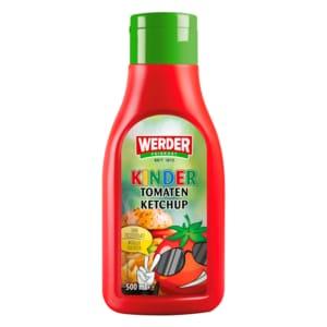 Werder Feinkost Kinder-Tomatenketchup 500ml