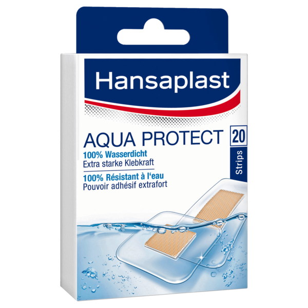 Hansaplast Aqua Protect Strips 20 Stk.
