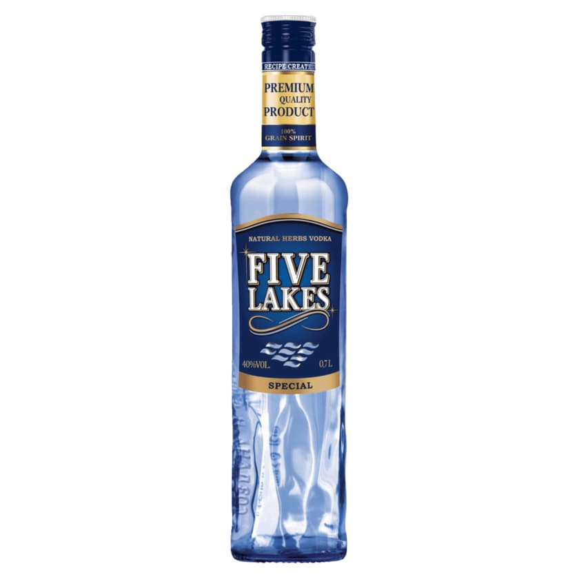 Five Lakes Siberian Vodka special 0,7l
