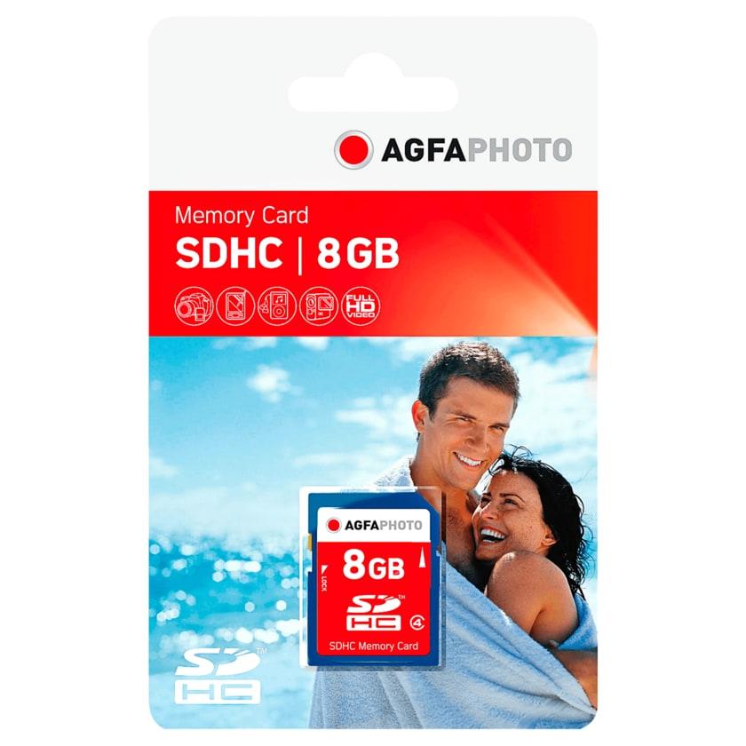 AgfaPhoto SDHC Memory Card 8GB