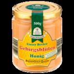 Bienenwirtschaft Meissen Imkerhonig Unser Bester Gebirgsblütenhonig cremig 500g
