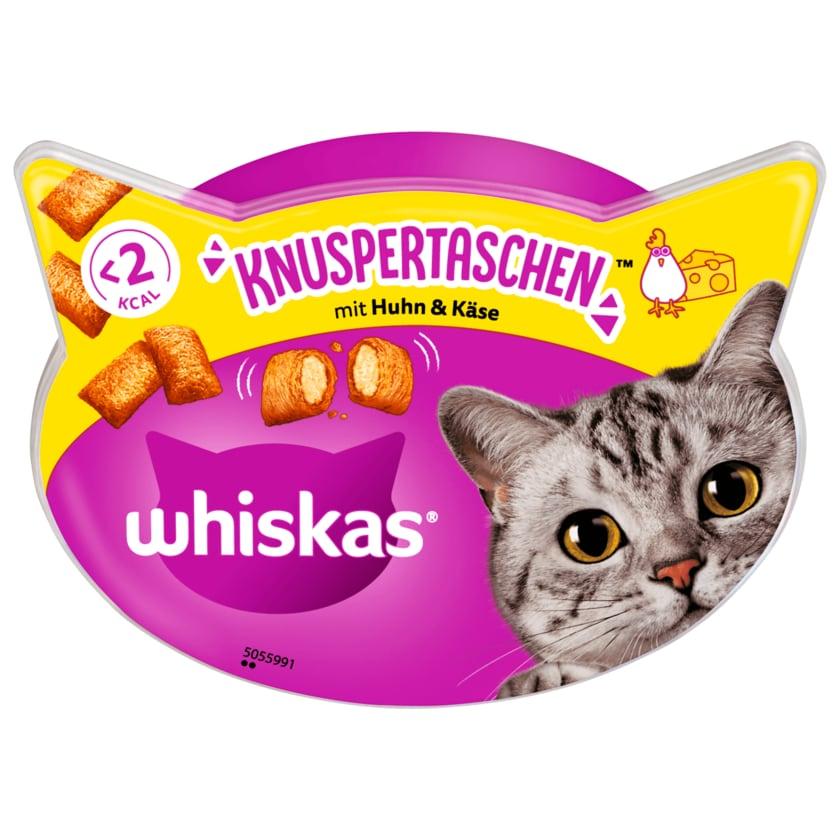 Whiskas Knuspertaschen mit Huhn & Käse 60g
