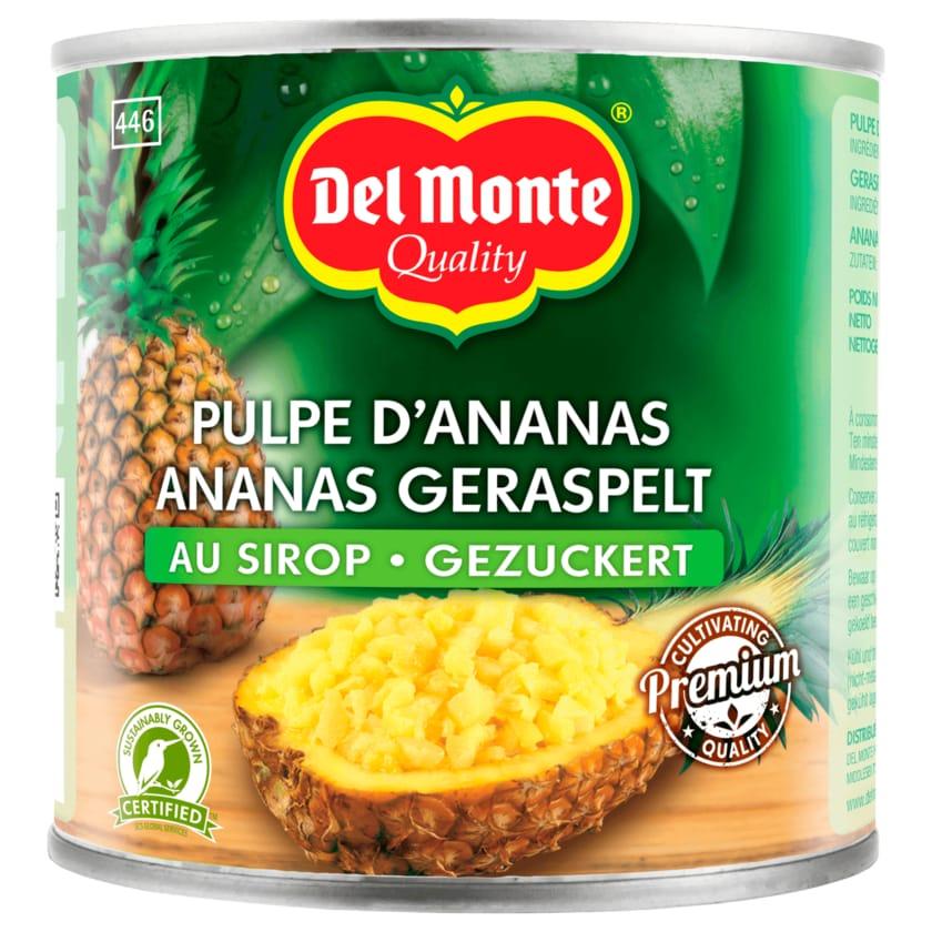 Del Monte Ananas geraspelt gezuckert 278g