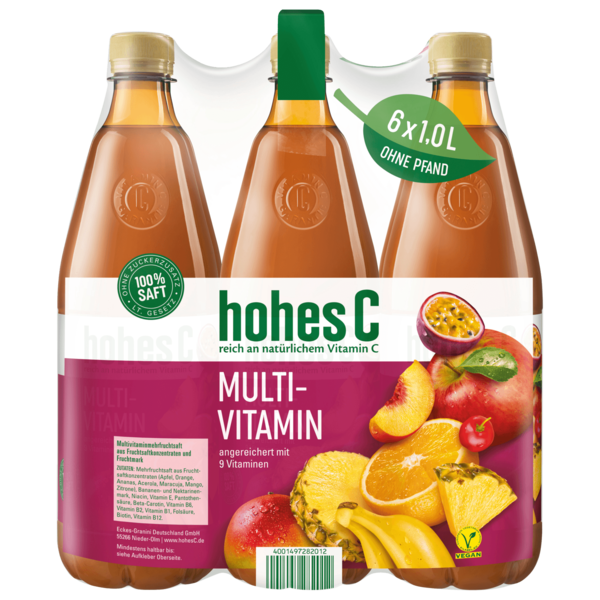 Hohes C Multivitamin 6x1l