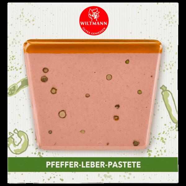 Wiltmann Pfeffer-Leber-Pastete 100g