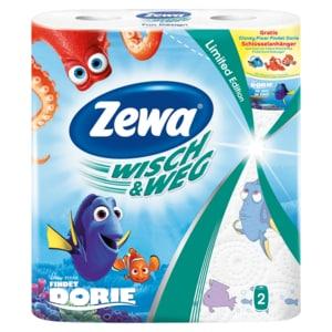 Zewa Wisch & Weg Riesen Küchenrollen Fun Design 2x72 Blatt