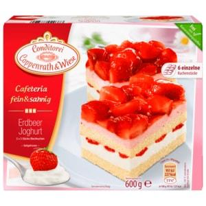 Conditorei Coppenrath & Wiese Cafeteria Erdbeer-Joghurt fein & sahnig 600g, 6 Stück