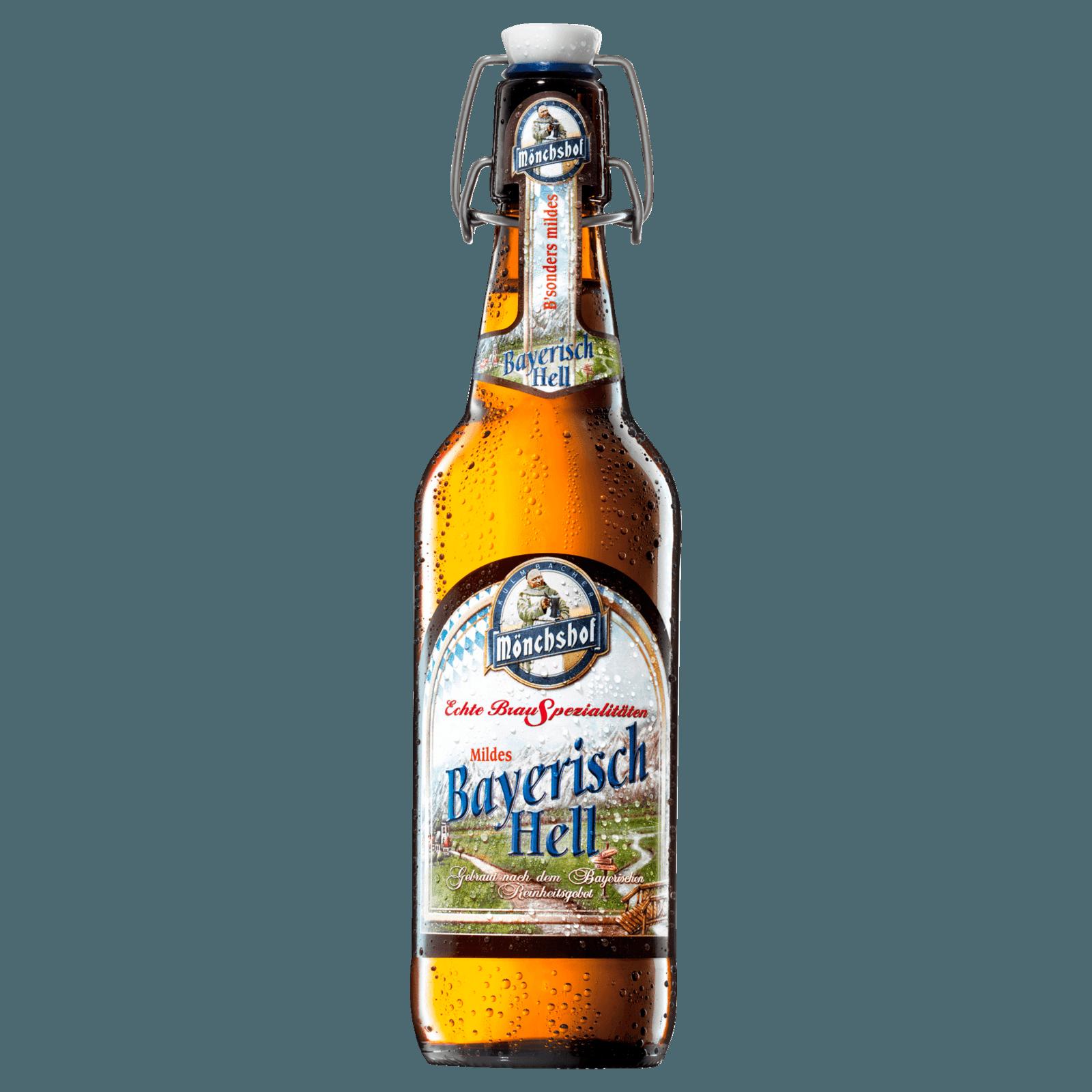 Mönchshof Bayerisch Hell 0,5l