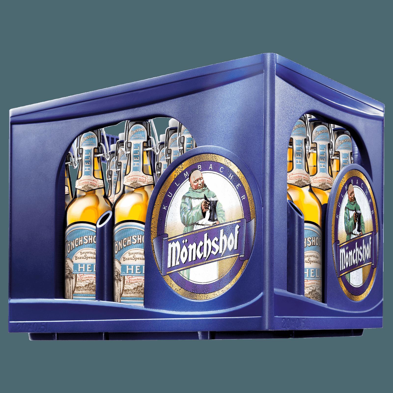 Mönchshof Bayerisch hell 20x0,5l