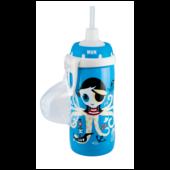 Nuk Flexi Cup Soft-Trinkhalm-Becher sortiert