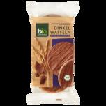 Bio Zentrale Dinkelwaffeln Vollmilchschokolade 100g
