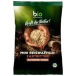 Biozentrale Bio Mini-Reiswaffeln Zartbitter 60g