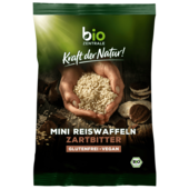 Bio Zentrale Mini-Reiswaffaln zartbitter 60g