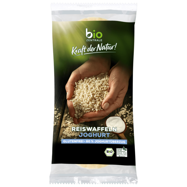Bio Zentrale Reiswaffeln Joghurt 100g