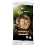 Bio Zentrale Reiswaffeln Zartbitterschokolade 100g