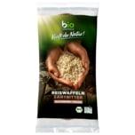 Biozentrale Bio Reiswaffeln Zartbitterschokolade 100g