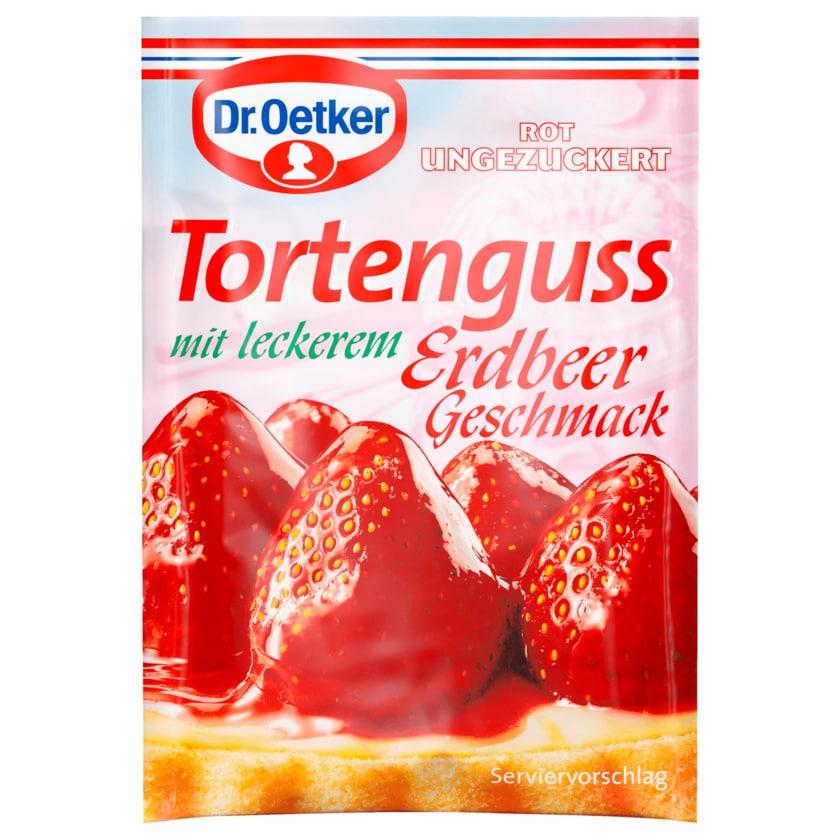 Dr. Oetker Tortenguss Erdbeer 36g
