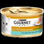 Purina Gourmet Gold Katzenfutter Seelachs 85g
