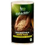 Biozentrale Bio Reiswaffeln Hirse-Mais 100g