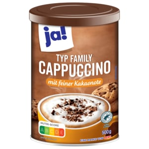 ja! Family Cappuccino 500g