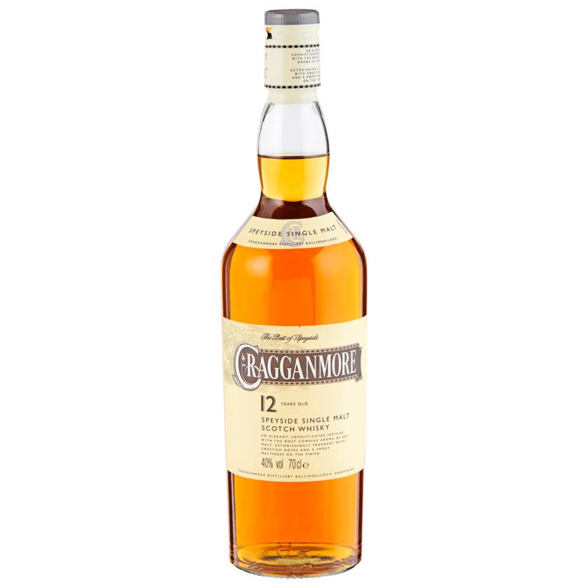 Cragganmore Speysidw Single Malt Scotch Malt 0,7l