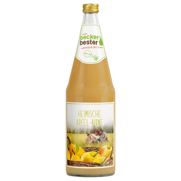 Beckers Bester Heimische Früchte Apfel-Birne 1l