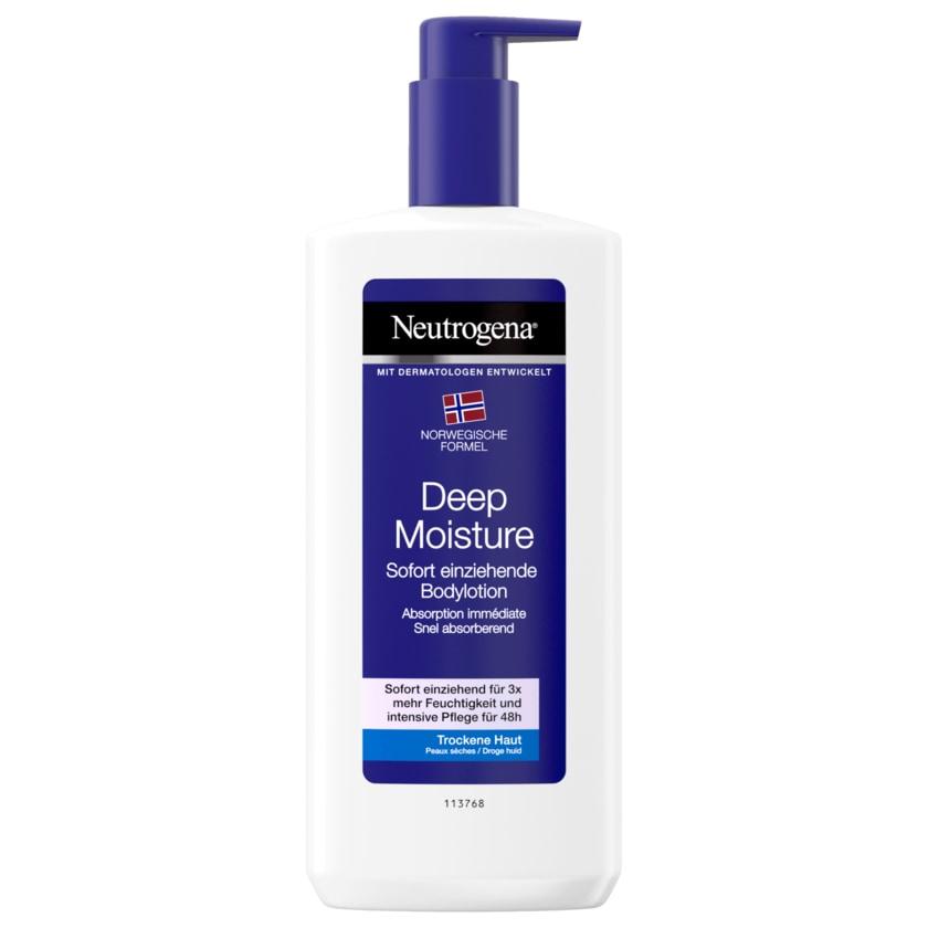 Neutrogena Deep Moisture Bodylotion für trockene Haut 400ml