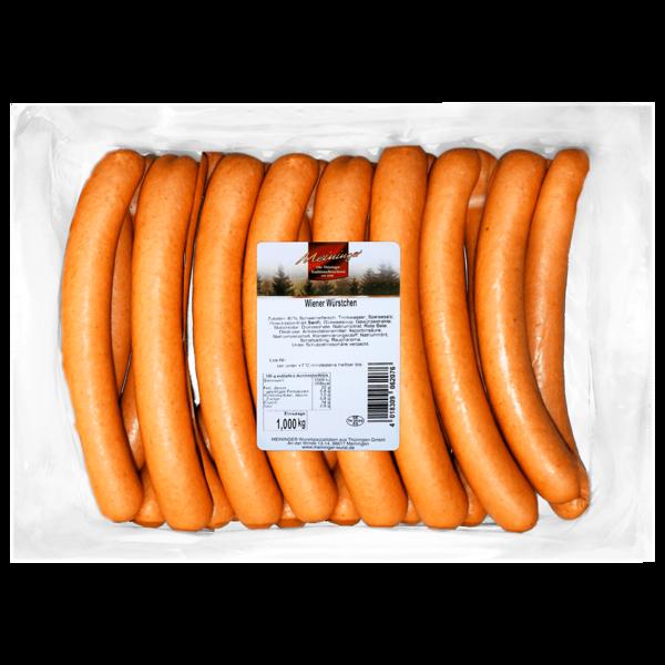 Meininger Wiener Würstchen 20x50g, 1kg