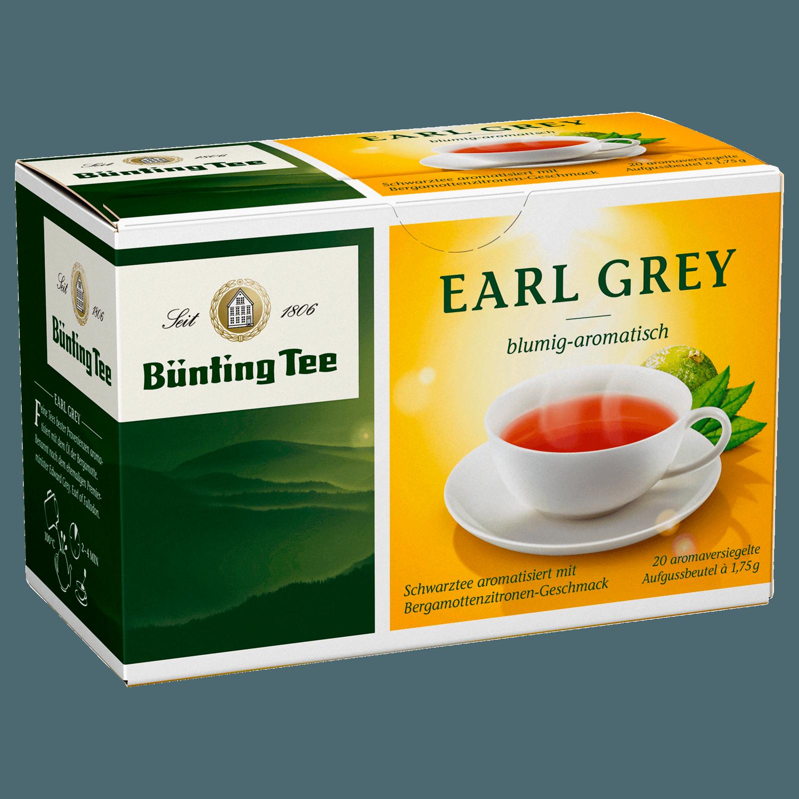 Bünting Tee Fine Earl Grey 35g, 20 Beutel