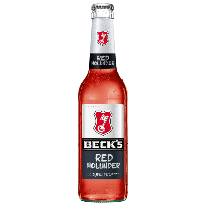 Beck's Red Holunder 0,33l