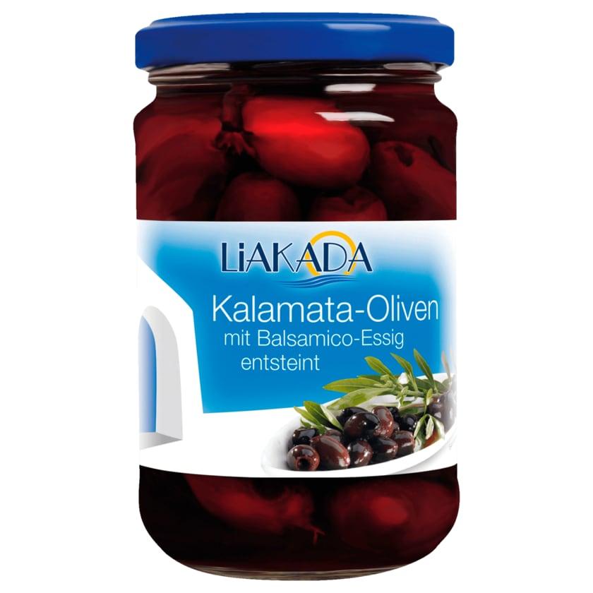Liakada Kalamata-Oliven in Balsamico ensteint 155g