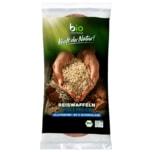 Biozentrale Bio Reiswaffeln Vollmilchschokolade 100g