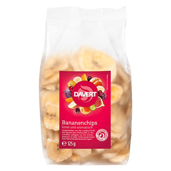 Davert Bio Bananenchips 125g