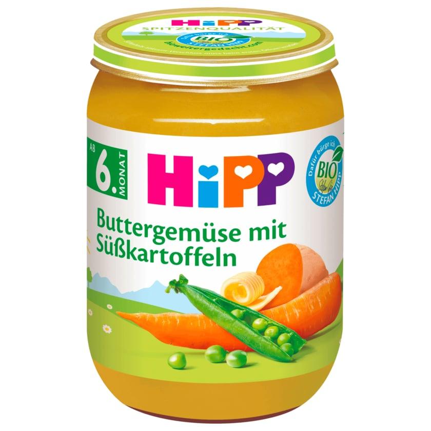Hipp Bio Buttergemüse mit Süßkartoffeln 190g